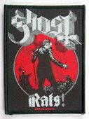 Ghost - 'Rats' Woven Patch